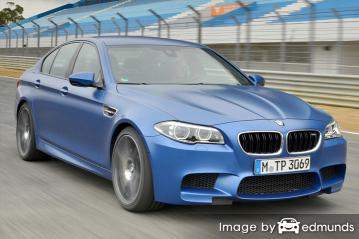 Insurance quote for BMW M5 in Kansas City