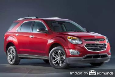 Insurance rates Chevy Equinox in Kansas City