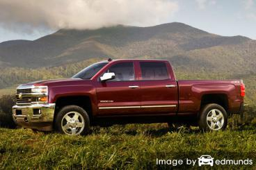 Insurance quote for Chevy Silverado 2500HD in Kansas City