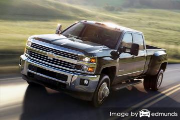 Insurance rates Chevy Silverado 3500HD in Kansas City