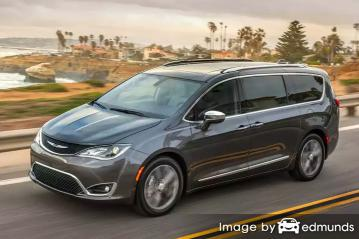 Insurance quote for Chrysler Pacifica in Kansas City