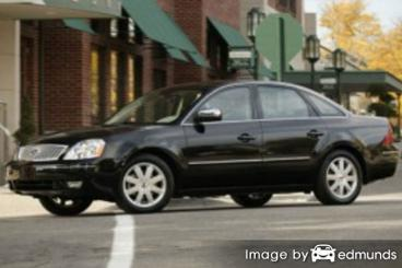 Insurance rates Ford Five Hundred in Kansas City