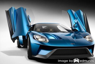 Insurance rates Ford GT in Kansas City