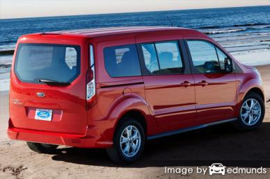 Insurance quote for Ford Transit Connect in Kansas City