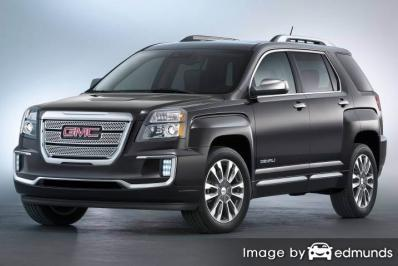 Insurance quote for GMC Terrain in Kansas City