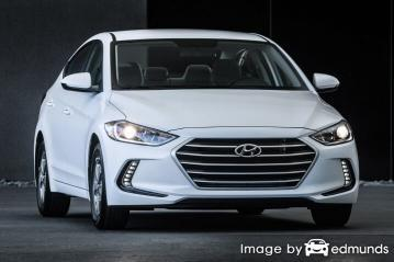 Insurance quote for Hyundai Elantra in Kansas City
