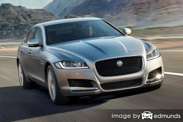 Insurance rates Jaguar XF in Kansas City