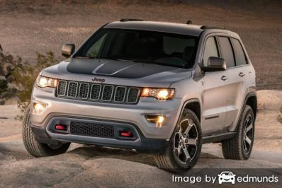 Insurance quote for Jeep Grand Cherokee in Kansas City