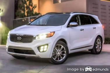 Insurance rates Kia Sorento in Kansas City