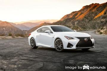 Insurance quote for Lexus RC F in Kansas City