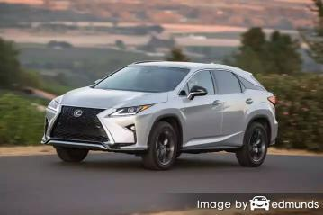 Insurance quote for Lexus RX 350 in Kansas City