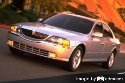 Insurance rates Lincoln LS in Kansas City
