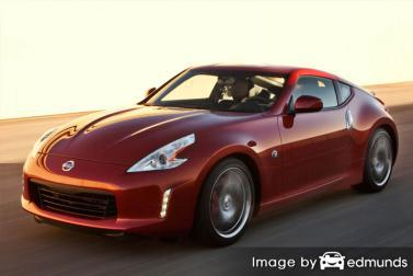 Insurance rates Nissan 370Z in Kansas City