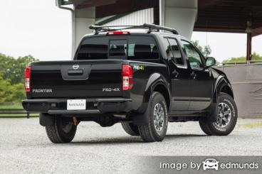 Insurance for Nissan Frontier