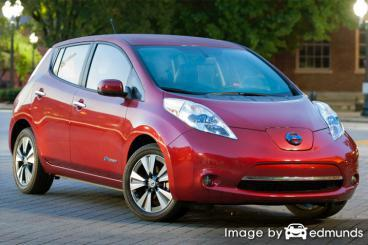 Insurance rates Nissan Leaf in Kansas City