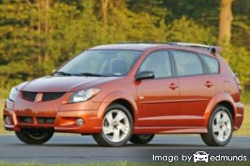Insurance quote for Pontiac Vibe in Kansas City