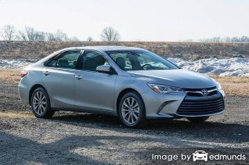 Insurance rates Toyota Camry in Kansas City
