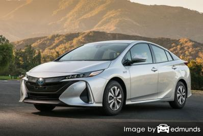 Insurance quote for Toyota Prius Prime in Kansas City
