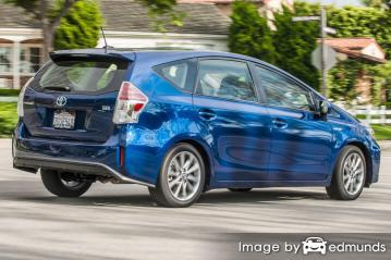 Insurance rates Toyota Prius V in Kansas City