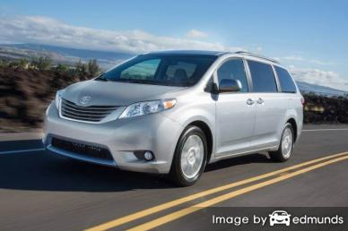 Insurance quote for Toyota Sienna in Kansas City