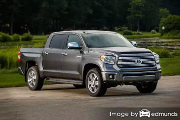 Insurance rates Toyota Tundra in Kansas City