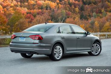 Insurance rates Volkswagen Passat in Kansas City